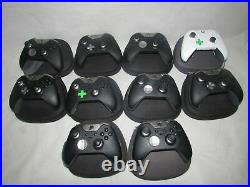 10 X Genuine Elite Xbox One Controller + Cases Spares Or Repairs Faulty Srf3007