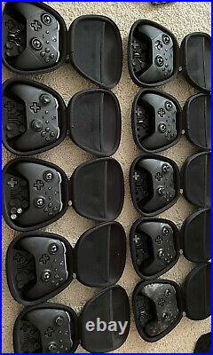 10 Xbox One Elite Series 2 Controller 10 Units in Lot As Is For Parts