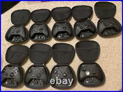 9 Xbox One Elite Series 2 Controller 9 Units in Lot As Is For Parts