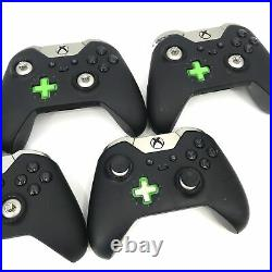 AS IS Microsoft Xbox One ELITE Controller Series 1 Model 1698 Lot of 5 #L2057