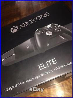 BRAND NEW Xbox One 1TB Elite Console Bundle with Elite controller Hybrid SSD HD