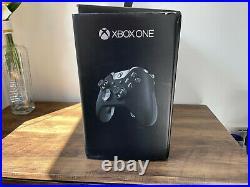 Boxed Microsoft Xbox One Elite 1TB Black Console With Elite Controller Series 1