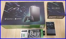 Brand New Xbox One X Eclipse Taco Bell Bundle + Elite Controller + Pass