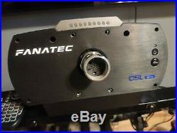 CSL Elite Wheel Base + works with. PS4/PC/xbox one
