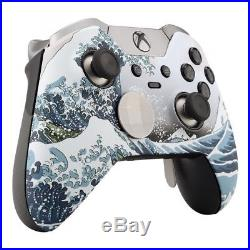 CUSTOM WAVE Soft Touch Microsoft Xbox One Elite Wireless Controller UNMODDED
