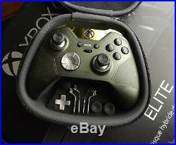 CUSTOM Xbox One X Elite Halo 5 Guardians Master Chief Wireless Controller BONUS
