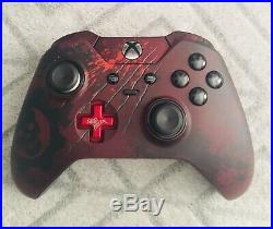 Custom Microsoft Xbox One Elite Controller (Gears of War 4 Style)