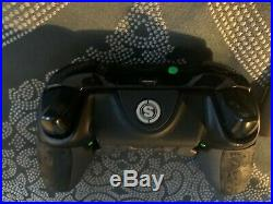 Custom Scuf Gaming Xbox One Elite Controller (Blacked Out + Controller Grips)