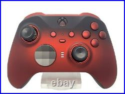 Custom Xbox One Elite Series 2 Controller Red Shadow Red LED