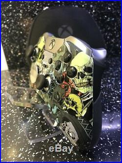 Custom Xbox One Elite Skull Controller LIMITED EDITION