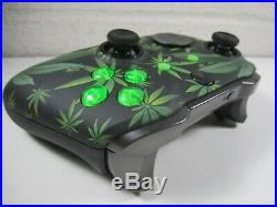 Custom Xbox One Elite Wireless Series 2 Controller detailed weed 1797 new green