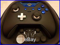 Customised Official Xbox One Elite Controller Blue Edition Custom / Modded