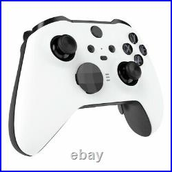 ELITE Custom Black and White Xbox One Series 2 Official Microsoft Controller
