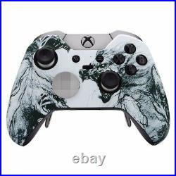 ELITE Custom Werewolf Grey Xbox One Series 1 Official Microsoft Controller