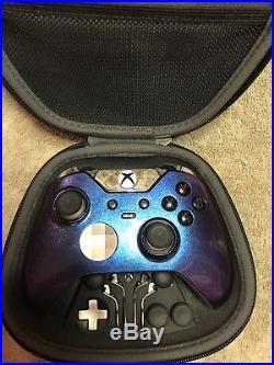 Elite Xbox One 1 Controller Custom Chameleon Shell, Chrome