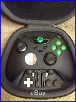 Elite Xbox One 1 Controller Custom GREEN Led, Buttons, ABXY withLetters
