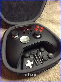 Elite Xbox One 1 Controller Custom RED Buttons, LED, ABXY with Letters