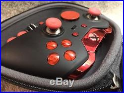 Elite Xbox One 1 Controller Custom RED Led, Buttons, ABXY withLetters, Joysticks