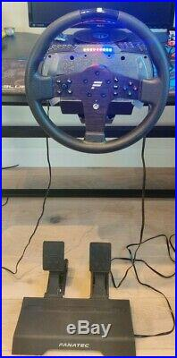 FANATEC CSL ELITE SET with WHEEL BASE + STEERING WHEEL P1 for XBOX ONE + PEDALS