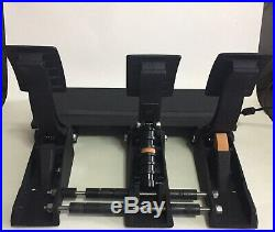 FANATEC CSL Elite Pedals with Loadcell Kit/ Minimal Use PS4 PC XBOX ONE