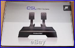 Fanatec CSL Elite Wheel Starter Pack for Xbox One & PC in perfect condition