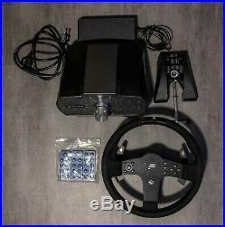 Fanatec CSL Elite Wheelbase + P1 Alcantara Suede Wheel Rim for PC and Xbox One