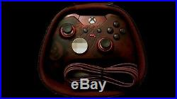 Gears Of War Xbox One Elite Controller with Accessories and case WARRANTY