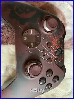Gears of War Xbox One Elite Controller Limited Edition Microsoft
