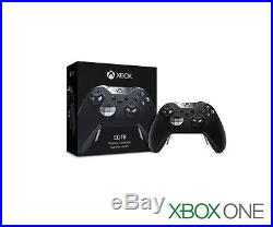 Genuine Microsoft XBOX ONE Elite Wireless Controller BLACK HM3-00001 (A2)