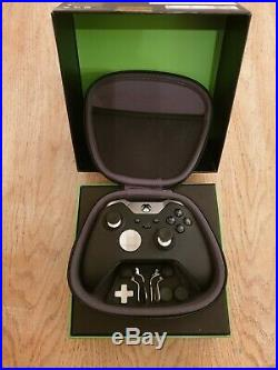 Genuine Microsoft Xbox One Elite Wireless Controller Black