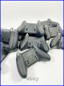 Lot of 10 Microsoft Xbox Elite Series 2 Wireless Controller (FOR PARTS/REPAIR)