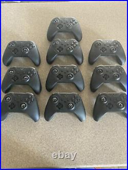 Lot of 10 Microsoft Xbox Elite Series 2 Wireless Controller UNTESTED