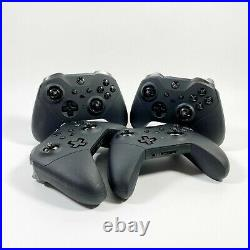Lot of 4 Microsoft Xbox Elite Series 2 Wireless Controller (FOR PARTS/REPAIR) #4
