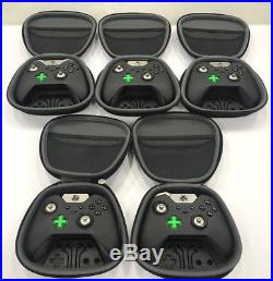 Lot of 5 Microsoft Xbox One ELITE Controllers FOR PARTS OR REPAIR SALVAGE AS IS