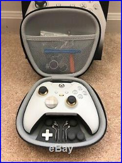 MODDED Xbox One Elite Controller +Case, Recharge Battery, 3.5mm Hyper X Headset