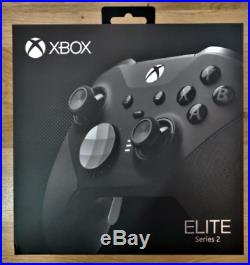 Microsoft Elite Series 2 Controller Xbox One Black SEALED FAST SHIPPING