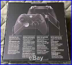 Microsoft Elite Series 2 Controller Xbox One Black SEALED IN HAND