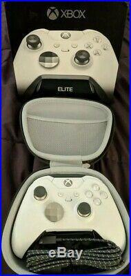 Microsoft White Xbox One Elite Wireless Controller