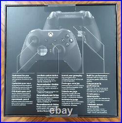 Microsoft Xbox Elite Series 2 Wireless Controller Gamepad Black XBox X or S PC