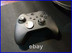 Microsoft Xbox Elite Series 2 With Extra Case Charging Dock and accessories