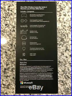 Microsoft Xbox Elite Wireless Controller Series 2 for Xbox One Black NEW