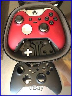 Microsoft Xbox One 500GB Console - Xbox Elite Controller - iCarbons Skin