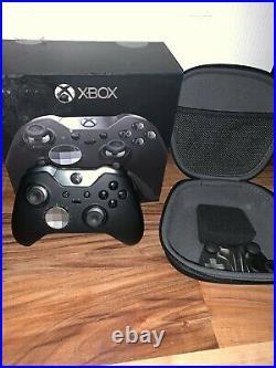 Microsoft Xbox One Black Elite Wireless Controller Series 1 MODEL1698