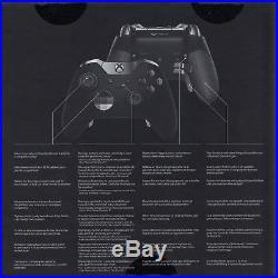 Microsoft Xbox One ELITE Wireless Controller Neu & OVP Schwarz