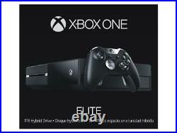 Microsoft Xbox One Elite 1TB SSHD Replacement Console Only With 6 Months Warranty