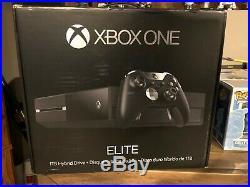 Microsoft Xbox One Elite Bundle 1TB Black Console Factory Sealed