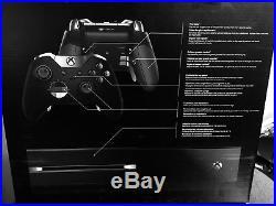 Microsoft Xbox One Elite Bundle 1TB Black Console New