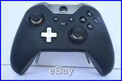 Microsoft Xbox One Elite Bundle 1TB Black Console Used With All Original Items