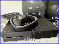 Microsoft Xbox One Elite Bundle 1TB Black Console & controller inc. 4 games