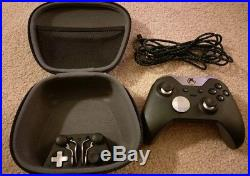 Microsoft Xbox One Elite Controller Gamepad Great Condition with everything